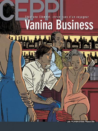 Couverture Stéphane Clément tome 9 - vanina business