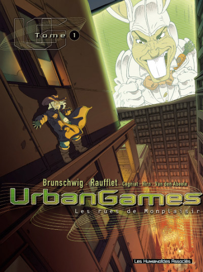Couverture Urban games tome 1