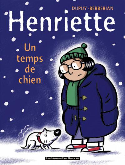 Couverture henriette tome 2 - un temps de chien