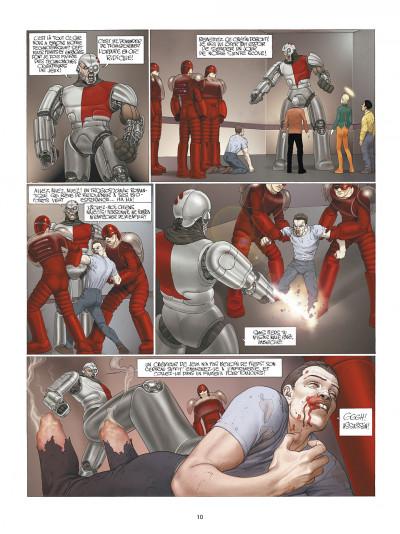 Page 0 les technopères tome 2 - l'école pénitentiaire de nohopè