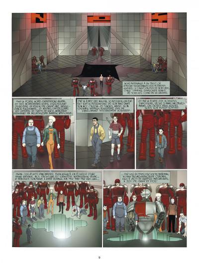 Page 9 les technopères tome 2 - l'école pénitentiaire de nohopè