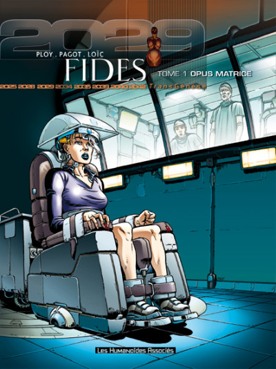 Couverture fides tome 1 - opus matrice