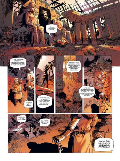 Page 2 les mémoires mortes tome 1 - feu destructeur