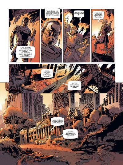 Page 3 les mémoires mortes tome 1 - feu destructeur