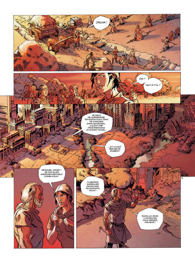 Page 4 les mémoires mortes tome 1 - feu destructeur