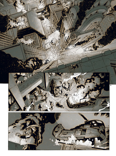 Page 5 les mémoires mortes tome 1 - feu destructeur