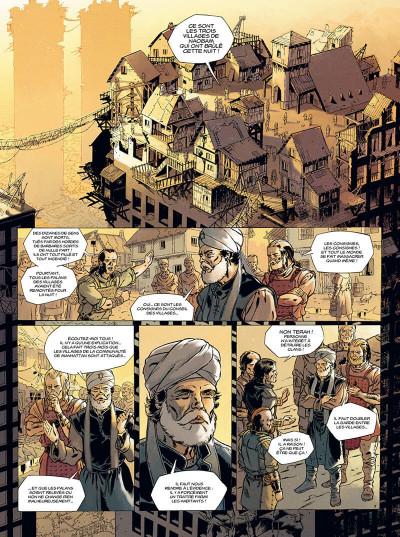 Page 8 les mémoires mortes tome 1 - feu destructeur