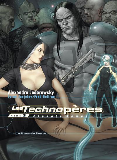 Couverture les technopères tome 3 - planeta games