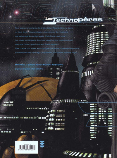 Dos les technopères tome 3 - planeta games