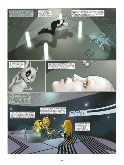 Page 1 les technopères tome 3 - planeta games