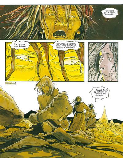 Page 4 le lama blanc tome 5 - main fermée main ouverte