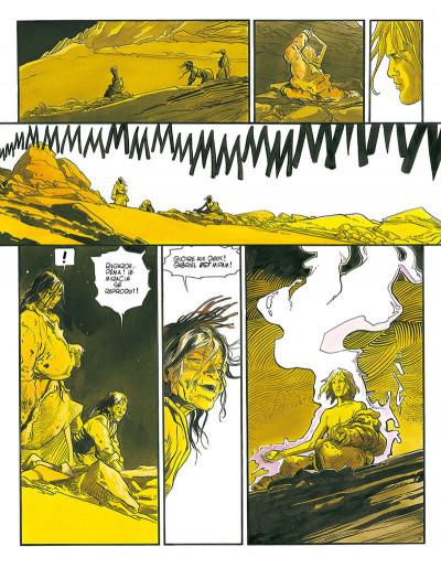 Page 5 le lama blanc tome 5 - main fermée main ouverte