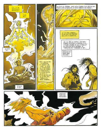 Page 6 le lama blanc tome 5 - main fermée main ouverte