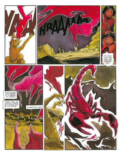Page 7 le lama blanc tome 5 - main fermée main ouverte