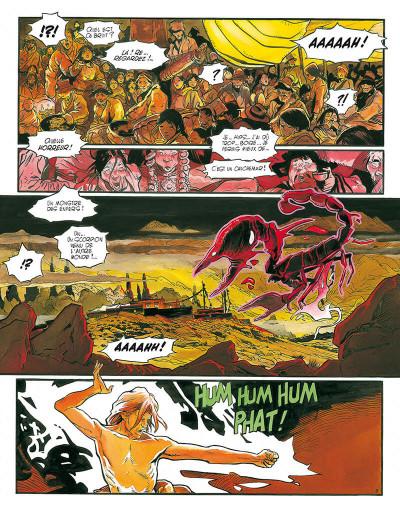 Page 8 le lama blanc tome 5 - main fermée main ouverte