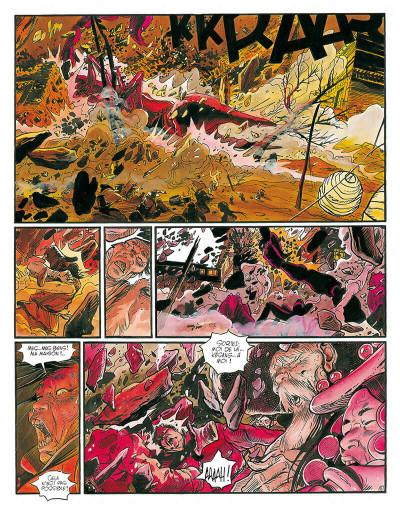 Page 9 le lama blanc tome 5 - main fermée main ouverte
