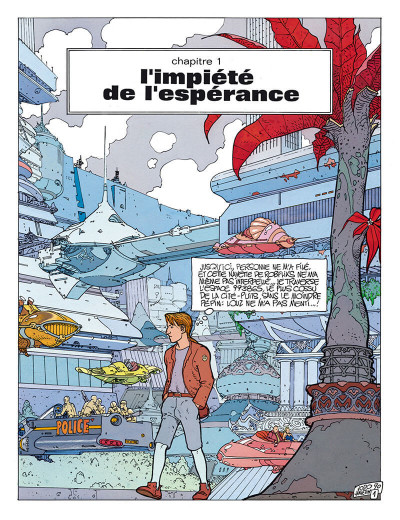 Page 2 avant l'incal tome 3 - croot