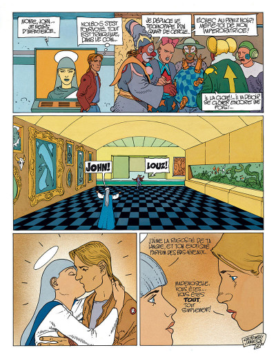Page 3 avant l'incal tome 3 - croot