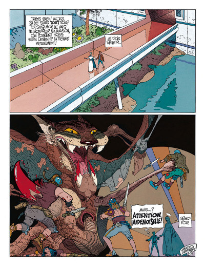 Page 4 avant l'incal tome 3 - croot