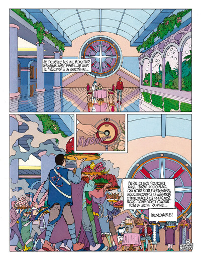 Page 6 avant l'incal tome 3 - croot