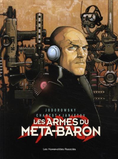 Couverture les armes du méta-baron