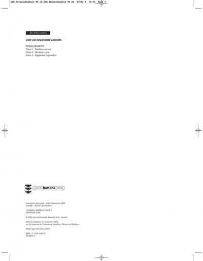 Page 1 le réseau bombyce tome 2 - monsieur lune