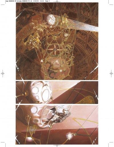 Page 2 le réseau bombyce tome 2 - monsieur lune