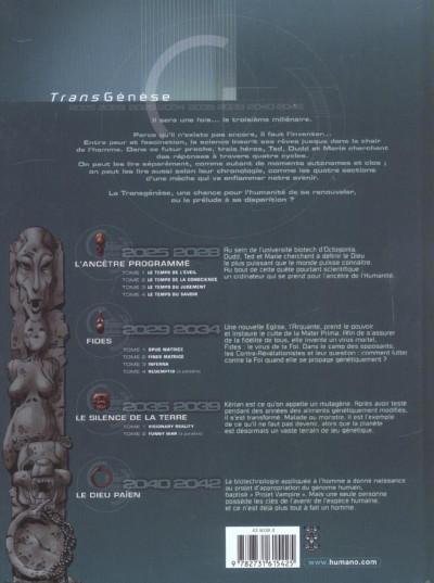 Dos l'ancêtre programmé tome 4 - le temps du savoir
