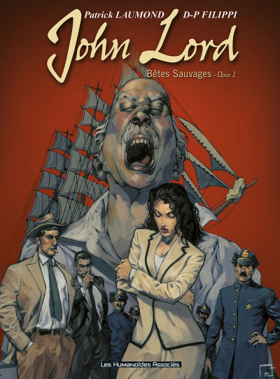 Couverture john lord tome 1 - bêtes sauvages
