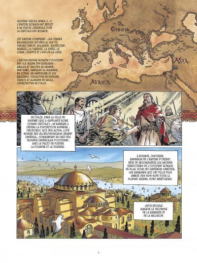 Page 3 la meute de l'enfer tome 1 - les compagnons de l'aigle