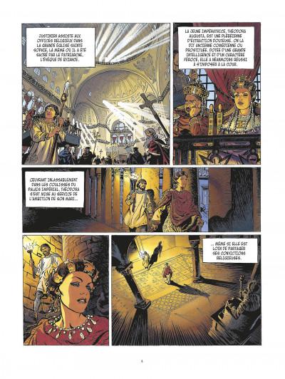 Page 4 la meute de l'enfer tome 1 - les compagnons de l'aigle