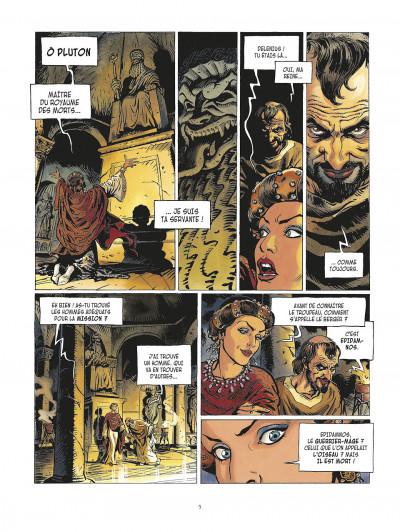 Page 5 la meute de l'enfer tome 1 - les compagnons de l'aigle