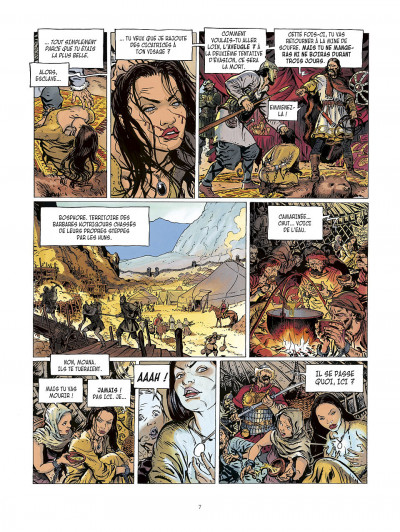 Page 7 la meute de l'enfer tome 1 - les compagnons de l'aigle