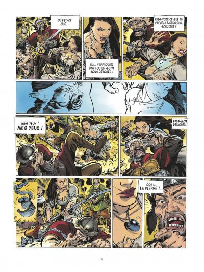 Page 8 la meute de l'enfer tome 1 - les compagnons de l'aigle