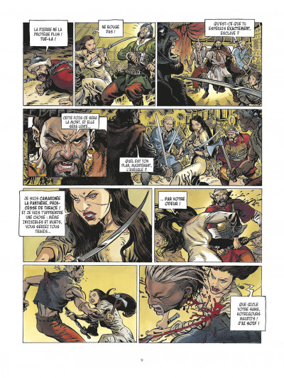 Page 9 la meute de l'enfer tome 1 - les compagnons de l'aigle