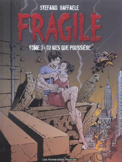Couverture Fragile tome 3 - tu n'es que poussière