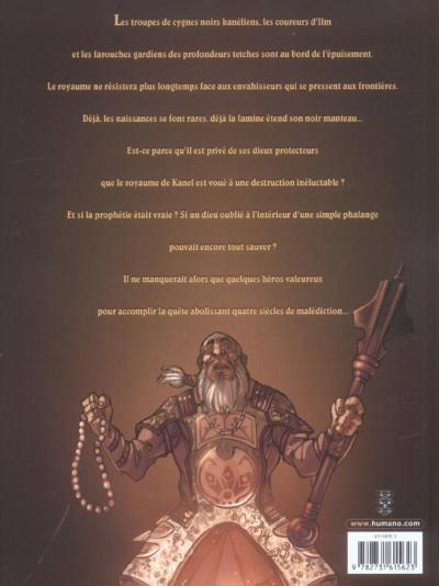 Dos sans dieu tome 1 - la prophétie de la phalange