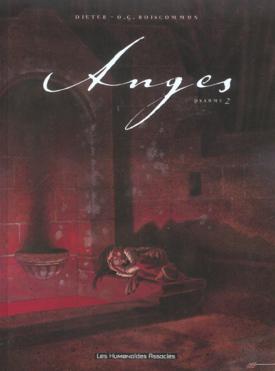 Couverture anges tome 2 - psaumes