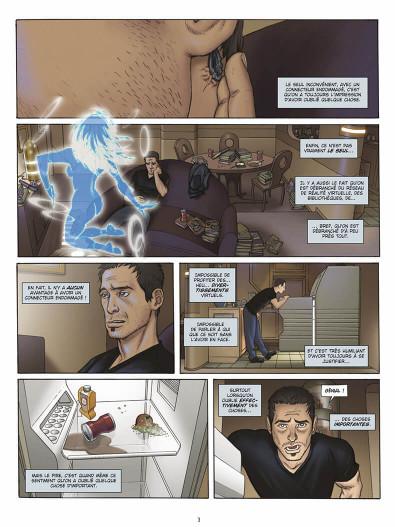 Page 2 L'infini tome 1 - la citadelle du vide