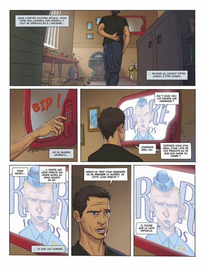 Page 3 L'infini tome 1 - la citadelle du vide