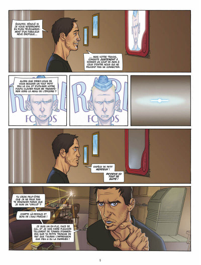Page 4 L'infini tome 1 - la citadelle du vide
