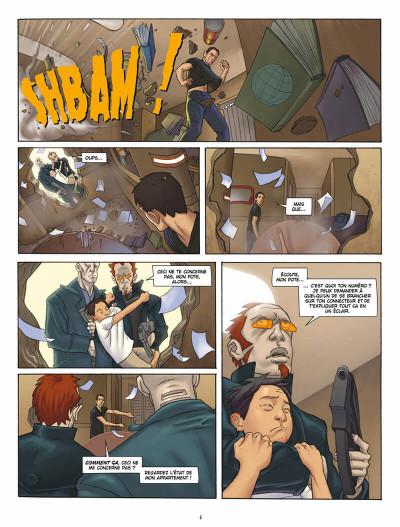 Page 5 L'infini tome 1 - la citadelle du vide
