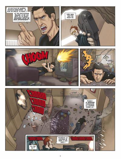 Page 6 L'infini tome 1 - la citadelle du vide