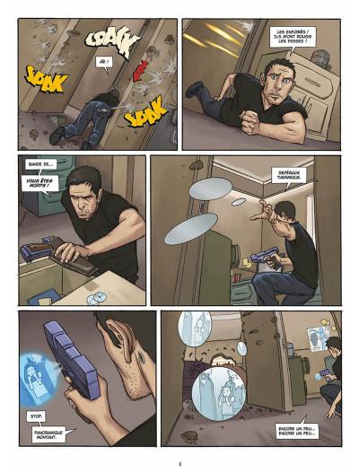 Page 7 L'infini tome 1 - la citadelle du vide