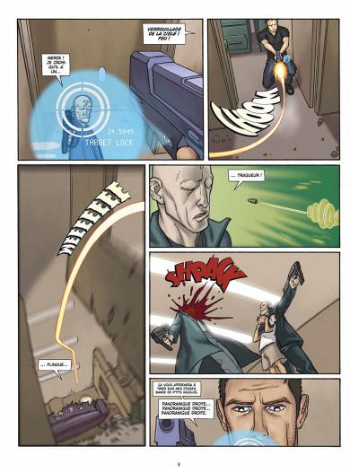Page 8 L'infini tome 1 - la citadelle du vide