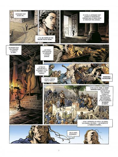 Page 7 la meute de l'enfer tome 2 - le retour de harith