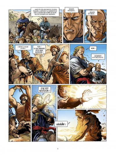 Page 8 la meute de l'enfer tome 2 - le retour de harith