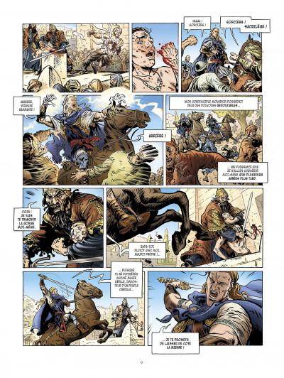 Page 9 la meute de l'enfer tome 2 - le retour de harith
