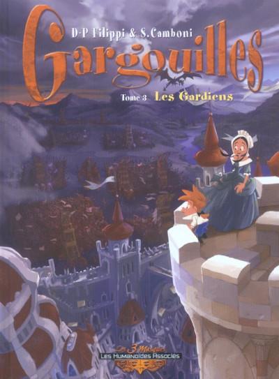Couverture gargouilles tome 3 - les gardiens