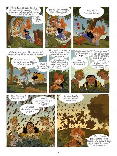 Page 0 gargouilles tome 3 - les gardiens